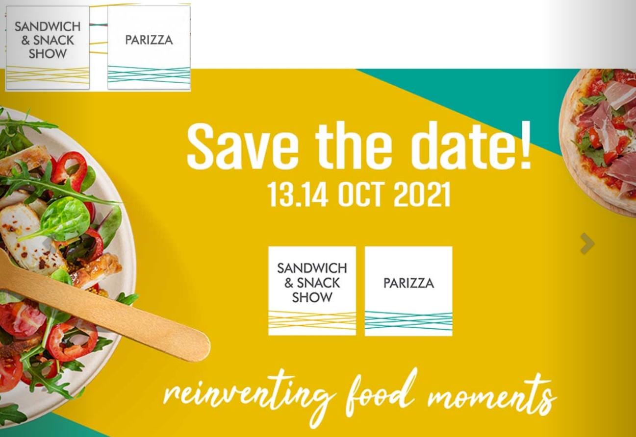 Retrouvez-nous au Salon PARIZZA / Sandwich et snack show